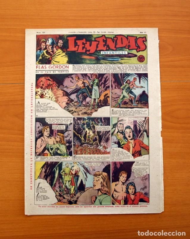 LEYENDAS INFANTILES, Nº 121 - EDITORIAL HISPANO AMERICANA 1944 - TAMAÑO 37X27 (Tebeos y Comics - Hispano Americana - Leyendas Infantiles)