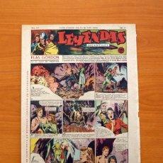 Tebeos: LEYENDAS INFANTILES, Nº 121 - EDITORIAL HISPANO AMERICANA 1944 - TAMAÑO 37X27. Lote 97855507
