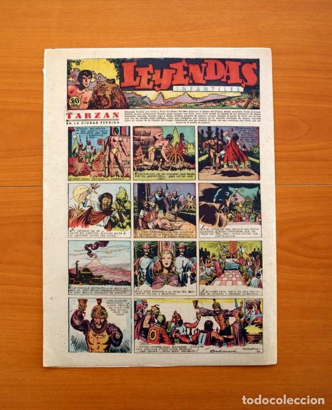 Tebeos: Leyendas Infantiles, nº 121 - Editorial Hispano Americana 1944 - Tamaño 37x27 - Foto 7 - 97855507