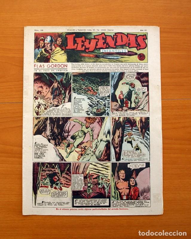 LEYENDAS INFANTILES, Nº 122 - EDITORIAL HISPANO AMERICANA 1944 - TAMAÑO 37X27 (Tebeos y Comics - Hispano Americana - Leyendas Infantiles)