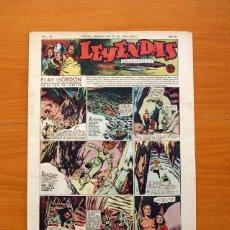 Tebeos: LEYENDAS INFANTILES, Nº 122 - EDITORIAL HISPANO AMERICANA 1944 - TAMAÑO 37X27. Lote 97855571