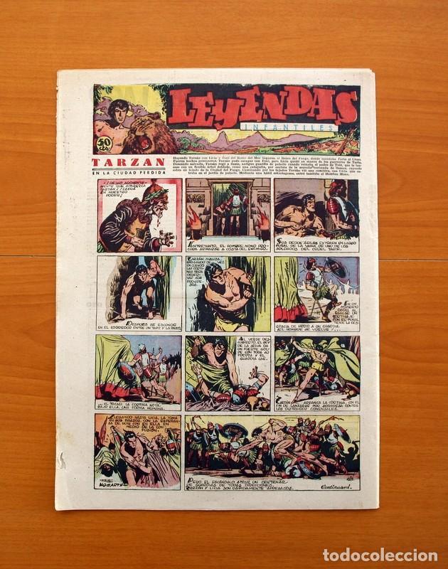 Tebeos: Leyendas Infantiles, nº 122 - Editorial Hispano Americana 1944 - Tamaño 37x27 - Foto 7 - 97855571