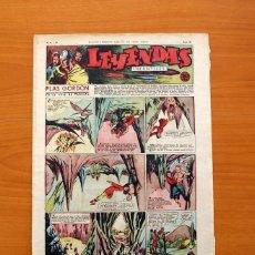 Tebeos: LEYENDAS INFANTILES, Nº 124 - EDITORIAL HISPANO AMERICANA 1944 - TAMAÑO 37X27. Lote 97855623
