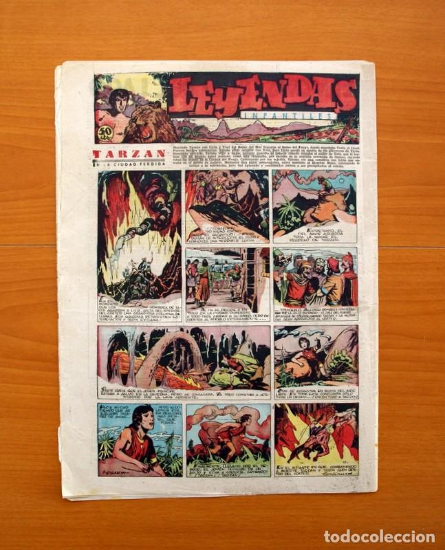 Tebeos: Leyendas Infantiles, nº 124 - Editorial Hispano Americana 1944 - Tamaño 37x27 - Foto 7 - 97855623