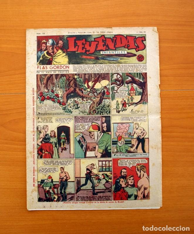 LEYENDAS INFANTILES, Nº 125 - EDITORIAL HISPANO AMERICANA 1944 - TAMAÑO 37X27 (Tebeos y Comics - Hispano Americana - Leyendas Infantiles)
