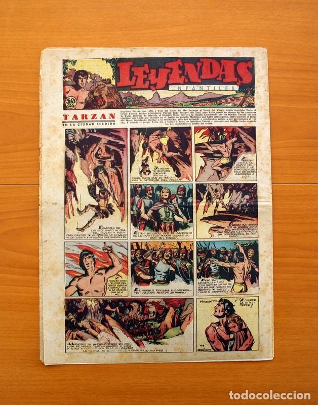 Tebeos: Leyendas Infantiles, nº 125 - Editorial Hispano Americana 1944 - Tamaño 37x27 - Foto 7 - 97855719