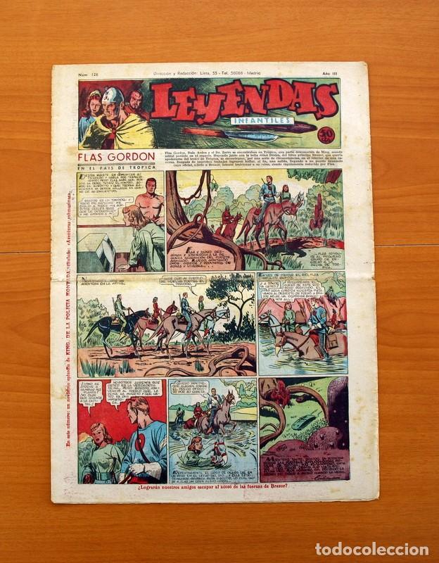 LEYENDAS INFANTILES, Nº 126 - EDITORIAL HISPANO AMERICANA 1944 - TAMAÑO 37X27 (Tebeos y Comics - Hispano Americana - Leyendas Infantiles)