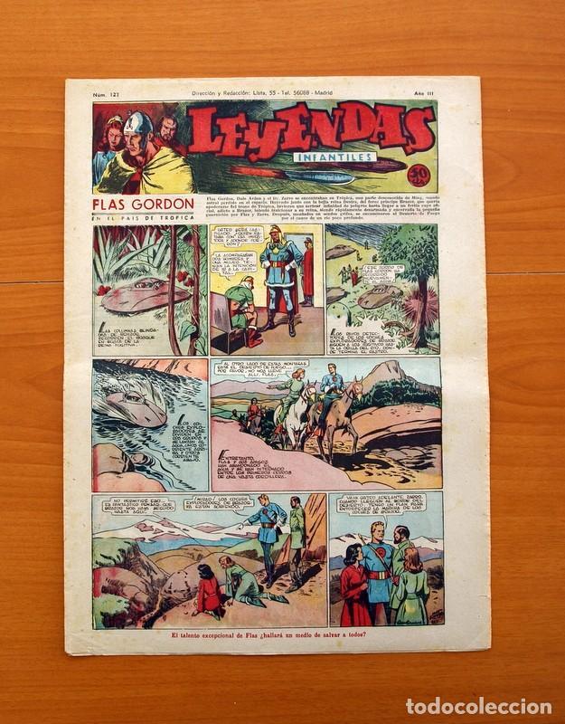 LEYENDAS INFANTILES, Nº 127 - EDITORIAL HISPANO AMERICANA 1944 - TAMAÑO 37X27 (Tebeos y Comics - Hispano Americana - Leyendas Infantiles)