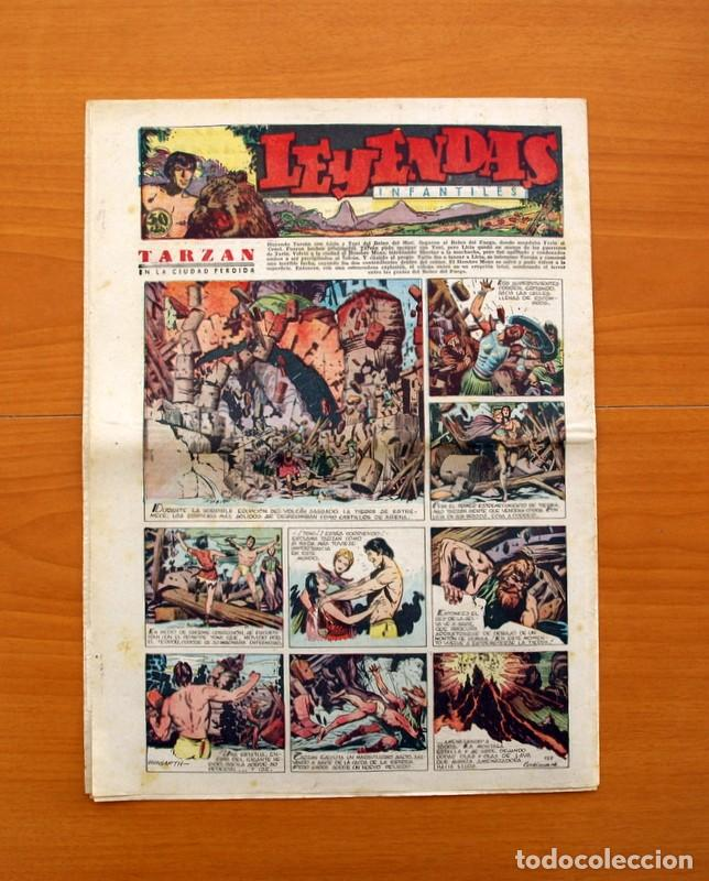 Tebeos: Leyendas Infantiles, nº 127 - Editorial Hispano Americana 1944 - Tamaño 37x27 - Foto 7 - 97855987