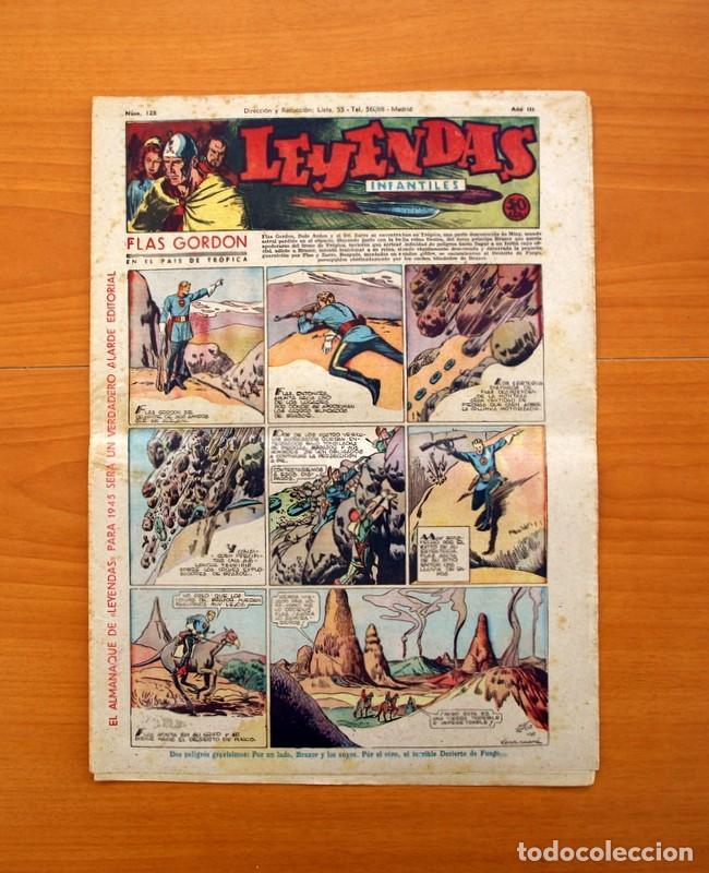 LEYENDAS INFANTILES, Nº 128 - EDITORIAL HISPANO AMERICANA 1944 - TAMAÑO 37X27 (Tebeos y Comics - Hispano Americana - Leyendas Infantiles)