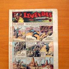 Tebeos: LEYENDAS INFANTILES, Nº 128 - EDITORIAL HISPANO AMERICANA 1944 - TAMAÑO 37X27. Lote 97856091
