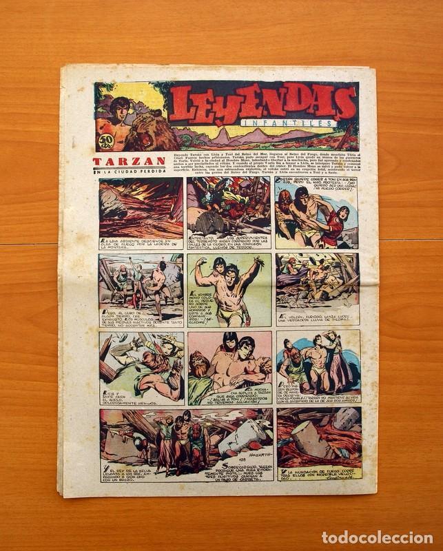 Tebeos: Leyendas Infantiles, nº 128 - Editorial Hispano Americana 1944 - Tamaño 37x27 - Foto 7 - 97856091