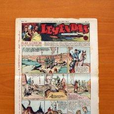 Tebeos: LEYENDAS INFANTILES, Nº 129 - EDITORIAL HISPANO AMERICANA 1944 - TAMAÑO 37X27. Lote 97856203