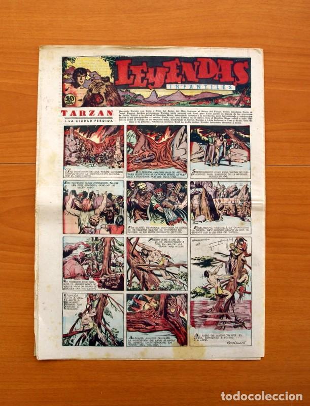 Tebeos: Leyendas Infantiles, nº 129 - Editorial Hispano Americana 1944 - Tamaño 37x27 - Foto 7 - 97856203