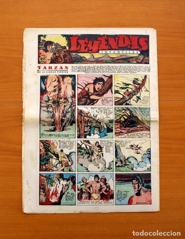 Tebeos: Leyendas Infantiles, nº 130 - Editorial Hispano Americana 1944 - Tamaño 37x27 - Foto 7 - 97856387