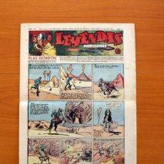 Tebeos: LEYENDAS INFANTILES, Nº 132 - EDITORIAL HISPANO AMERICANA 1944 - TAMAÑO 37X27. Lote 97856539