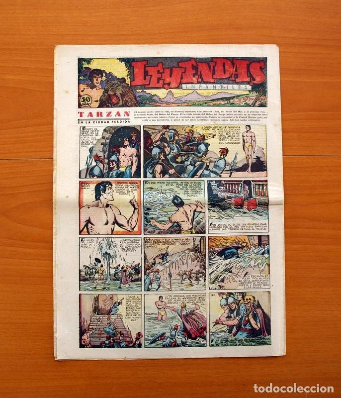 Tebeos: Leyendas Infantiles, nº 132 - Editorial Hispano Americana 1944 - Tamaño 37x27 - Foto 7 - 97856539