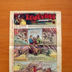 Tebeos: LEYENDAS INFANTILES, Nº 133 - EDITORIAL HISPANO AMERICANA 1944 - TAMAÑO 37X27. Lote 97856679