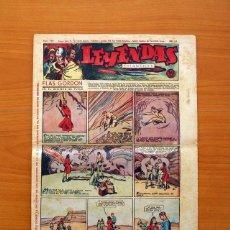 Tebeos: LEYENDAS INFANTILES, Nº 134 - EDITORIAL HISPANO AMERICANA 1944 - TAMAÑO 37X27. Lote 97856983