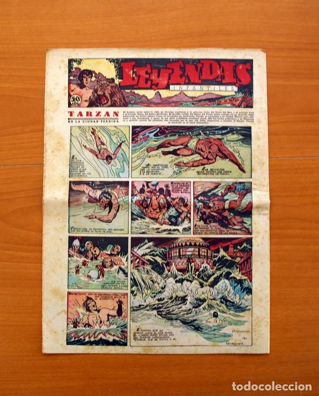 Tebeos: Leyendas Infantiles, nº 134 - Editorial Hispano Americana 1944 - Tamaño 37x27 - Foto 7 - 97856983