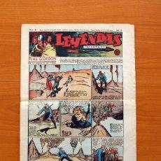 Tebeos: LEYENDAS INFANTILES, Nº 135 - EDITORIAL HISPANO AMERICANA 1944 - TAMAÑO 37X27. Lote 97857043