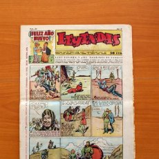 Tebeos: LEYENDAS, Nº 136 - EDITORIAL HISPANO AMERICANA 1944 - TAMAÑO 37X27. Lote 97857423
