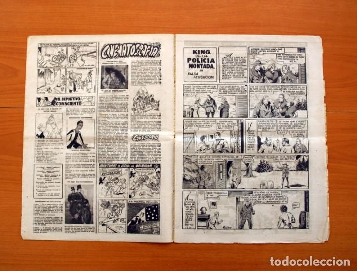 Tebeos: Leyendas, nº 136 - Editorial Hispano Americana 1944 - Tamaño 37x27 - Foto 2 - 97857423