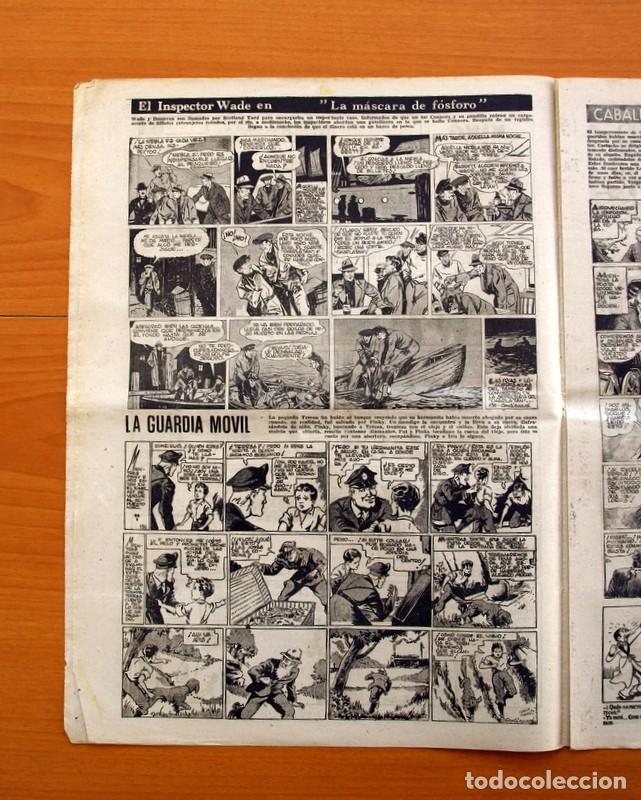 Tebeos: Leyendas, nº 136 - Editorial Hispano Americana 1944 - Tamaño 37x27 - Foto 3 - 97857423