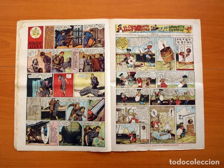 Tebeos: Leyendas, nº 136 - Editorial Hispano Americana 1944 - Tamaño 37x27 - Foto 4 - 97857423