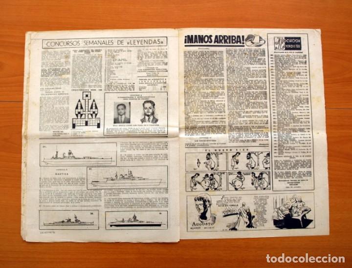 Tebeos: Leyendas, nº 136 - Editorial Hispano Americana 1944 - Tamaño 37x27 - Foto 6 - 97857423