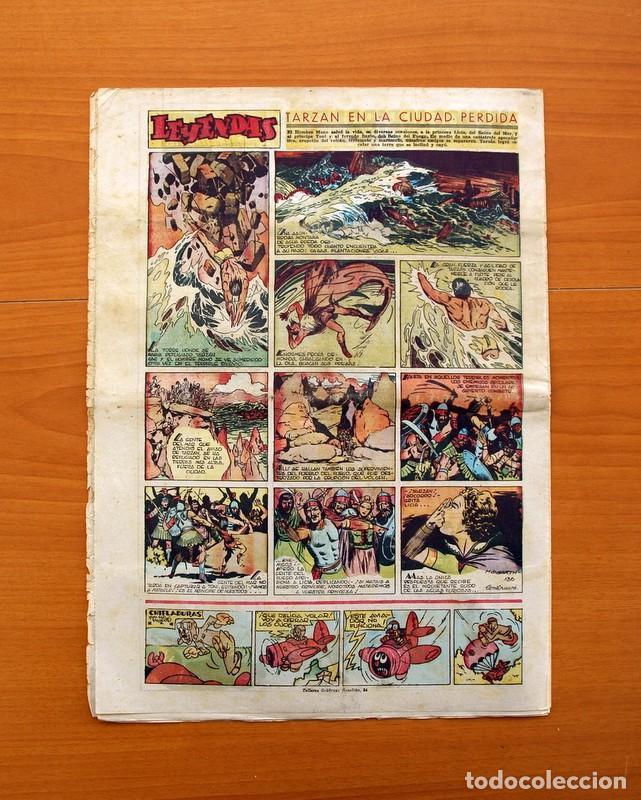 Tebeos: Leyendas, nº 136 - Editorial Hispano Americana 1944 - Tamaño 37x27 - Foto 7 - 97857423