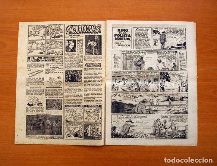 Tebeos: Leyendas, nº 137 - Editorial Hispano Americana 1944 - Tamaño 37x27 - Foto 2 - 97857523