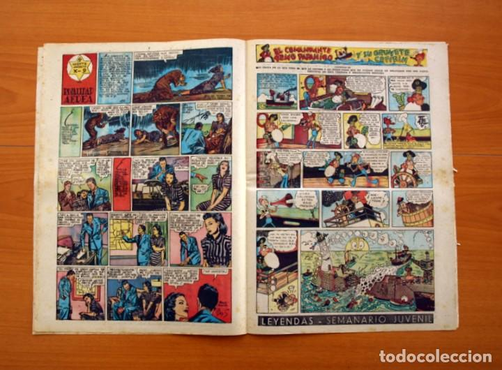 Tebeos: Leyendas, nº 137 - Editorial Hispano Americana 1944 - Tamaño 37x27 - Foto 4 - 97857523