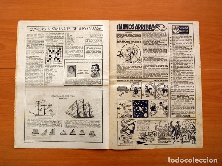 Tebeos: Leyendas, nº 137 - Editorial Hispano Americana 1944 - Tamaño 37x27 - Foto 6 - 97857523