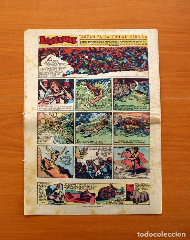Tebeos: Leyendas, nº 137 - Editorial Hispano Americana 1944 - Tamaño 37x27 - Foto 7 - 97857523