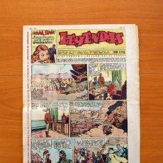 Tebeos: LEYENDAS, Nº 139 - EDITORIAL HISPANO AMERICANA 1944 - TAMAÑO 37X27. Lote 97857751