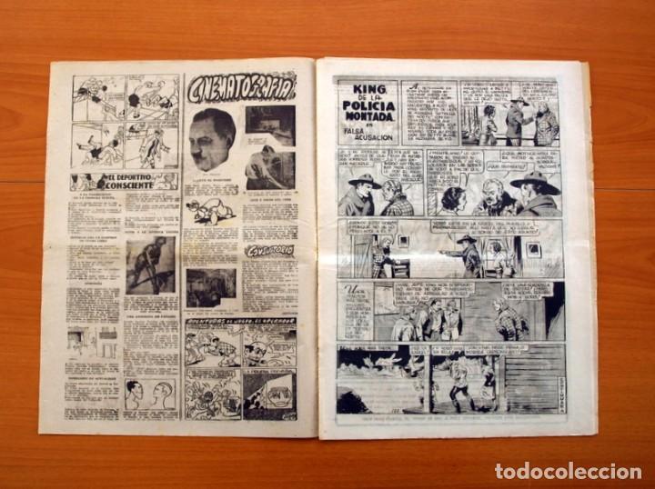 Tebeos: Leyendas, nº 139 - Editorial Hispano Americana 1944 - Tamaño 37x27 - Foto 2 - 97857751
