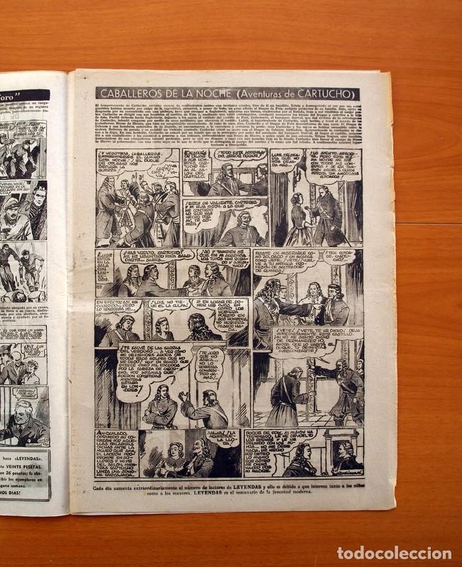 Tebeos: Leyendas, nº 139 - Editorial Hispano Americana 1944 - Tamaño 37x27 - Foto 3 - 97857751