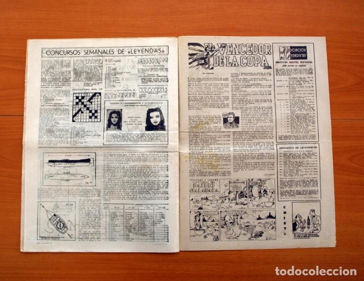 Tebeos: Leyendas, nº 139 - Editorial Hispano Americana 1944 - Tamaño 37x27 - Foto 6 - 97857751