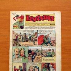 Tebeos: LEYENDAS, Nº 140 - EDITORIAL HISPANO AMERICANA 1944 - TAMAÑO 37X27. Lote 97857971