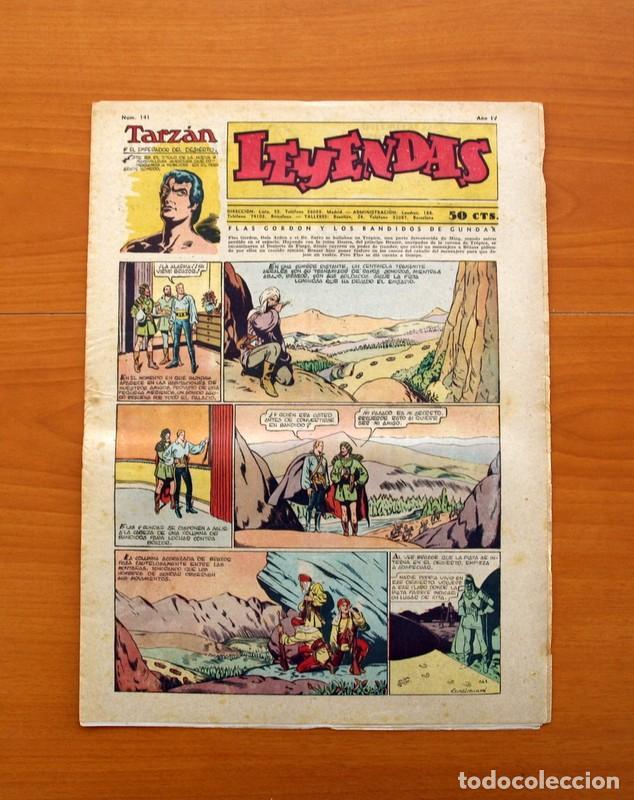 LEYENDAS, Nº 141 - EDITORIAL HISPANO AMERICANA 1944 - TAMAÑO 37X27 (Tebeos y Comics - Hispano Americana - Leyendas Infantiles)
