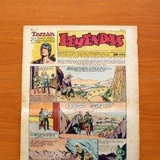Tebeos: LEYENDAS, Nº 141 - EDITORIAL HISPANO AMERICANA 1944 - TAMAÑO 37X27. Lote 97858087
