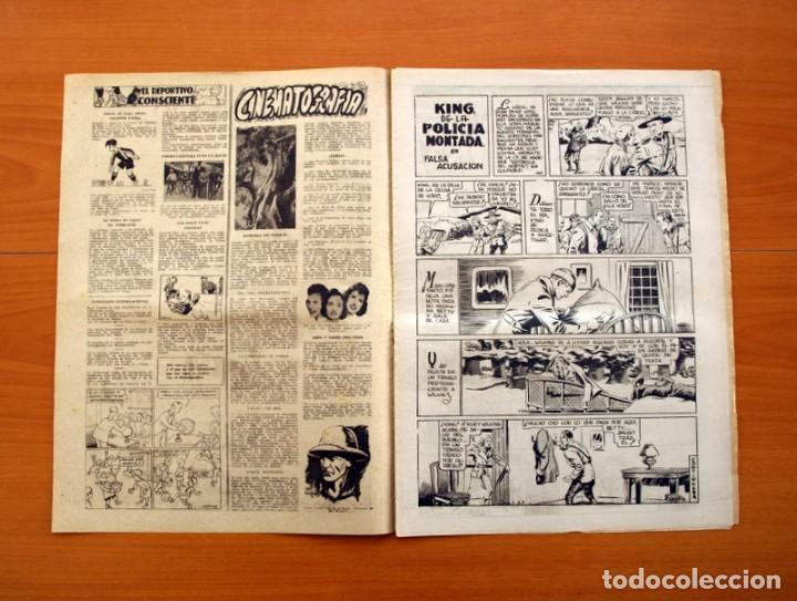 Tebeos: Leyendas, nº 141 - Editorial Hispano Americana 1944 - Tamaño 37x27 - Foto 2 - 97858087