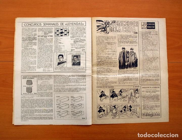 Tebeos: Leyendas, nº 141 - Editorial Hispano Americana 1944 - Tamaño 37x27 - Foto 6 - 97858087