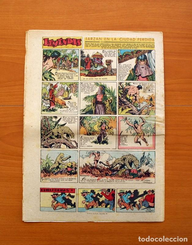 Tebeos: Leyendas, nº 141 - Editorial Hispano Americana 1944 - Tamaño 37x27 - Foto 7 - 97858087