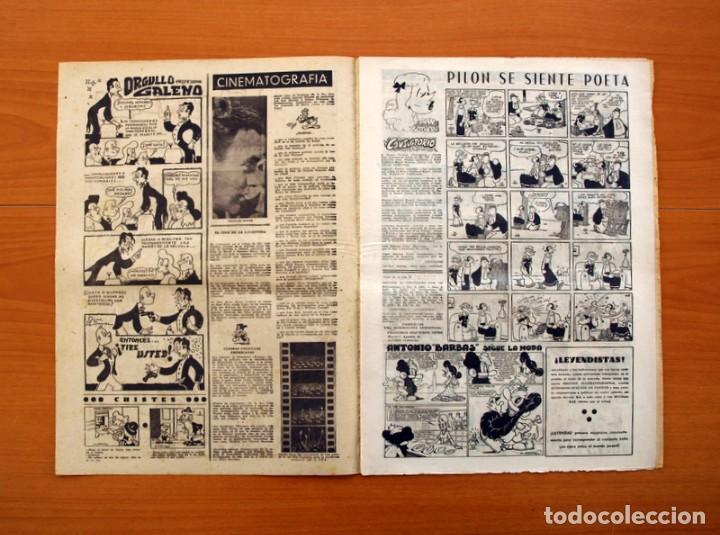 Tebeos: Leyendas, nº 143 - Editorial Hispano Americana 1944 - Tamaño 37x27 - Foto 2 - 97858311
