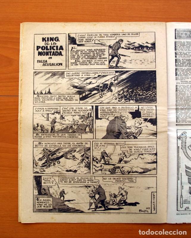 Tebeos: Leyendas, nº 143 - Editorial Hispano Americana 1944 - Tamaño 37x27 - Foto 5 - 97858311