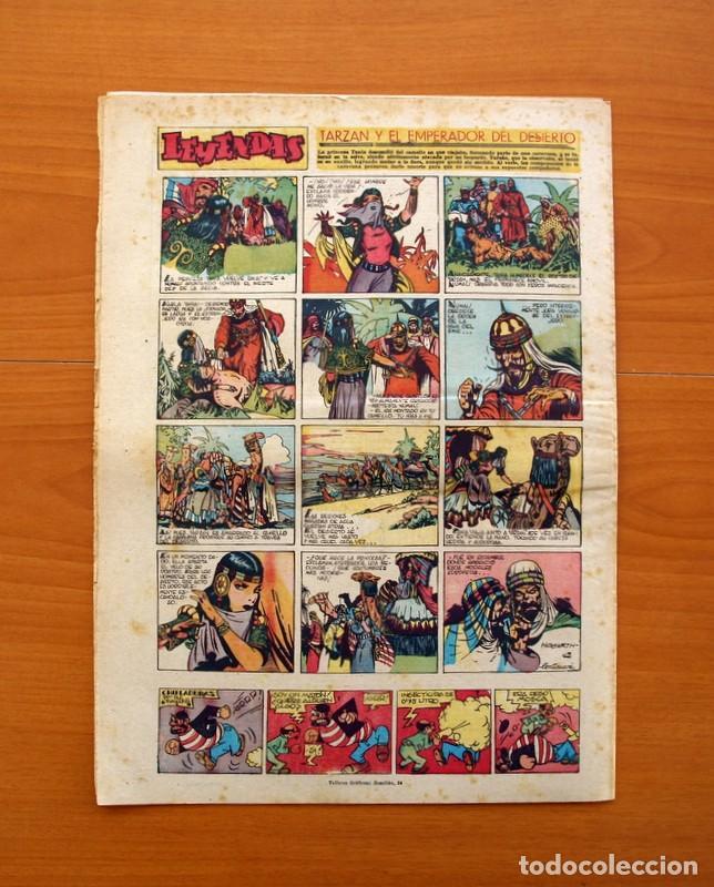 Tebeos: Leyendas, nº 143 - Editorial Hispano Americana 1944 - Tamaño 37x27 - Foto 7 - 97858311