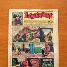 Tebeos: LEYENDAS, Nº 144 - EDITORIAL HISPANO AMERICANA 1944 - TAMAÑO 37X27. Lote 97858435