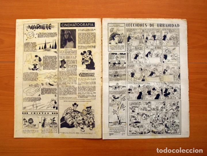 Tebeos: Leyendas, nº 144 - Editorial Hispano Americana 1944 - Tamaño 37x27 - Foto 2 - 97858435